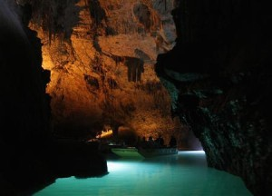 Tour the lower cave of Jeita by boat (courtesy of  Reuters/ Sharif Karim)