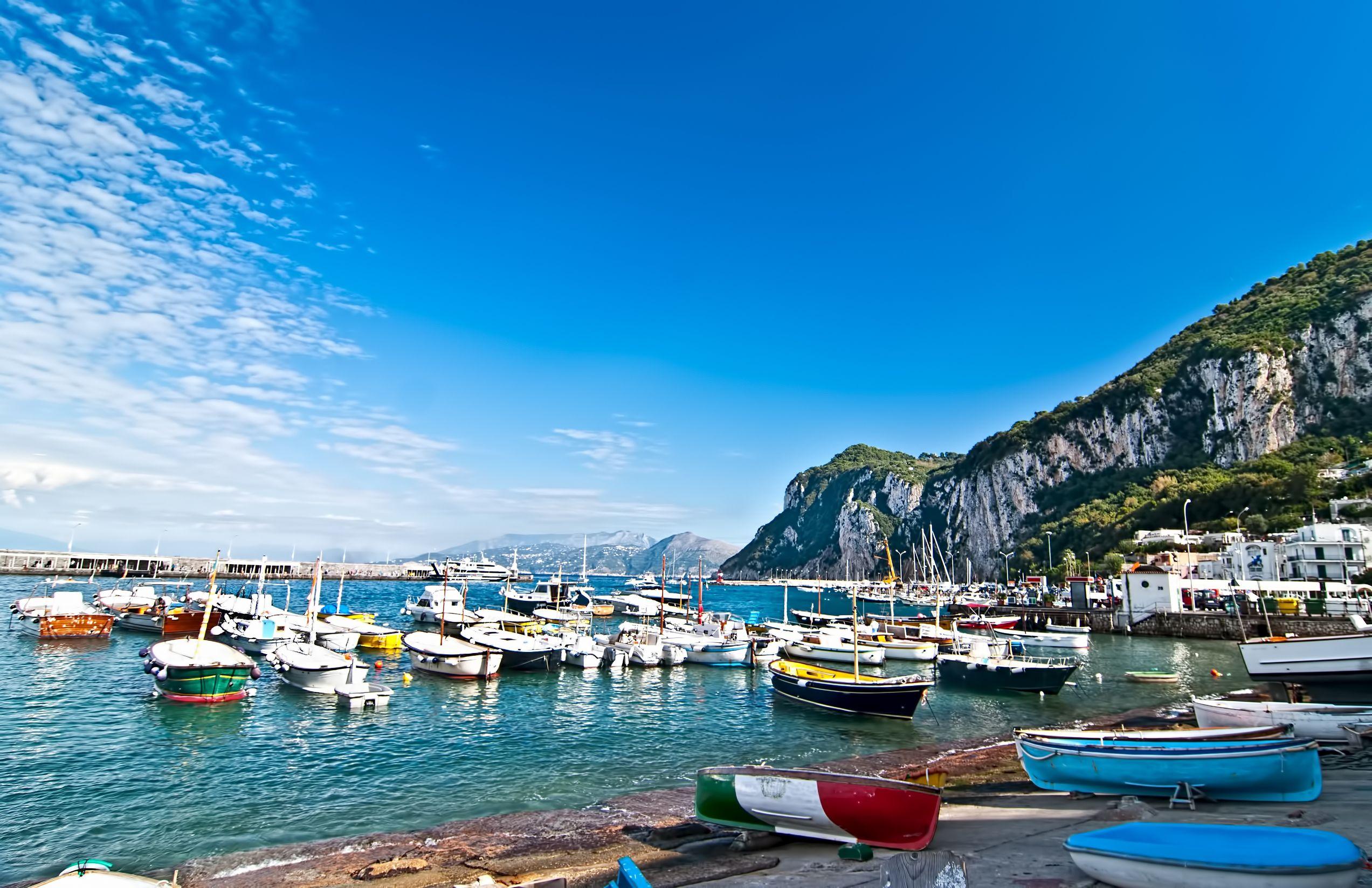 جزيرة كابري إيطاليا