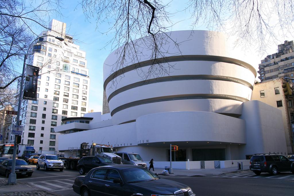 متحف السلمون غوغنهايم نيويورك الولايات المتحدة الأمريكية
