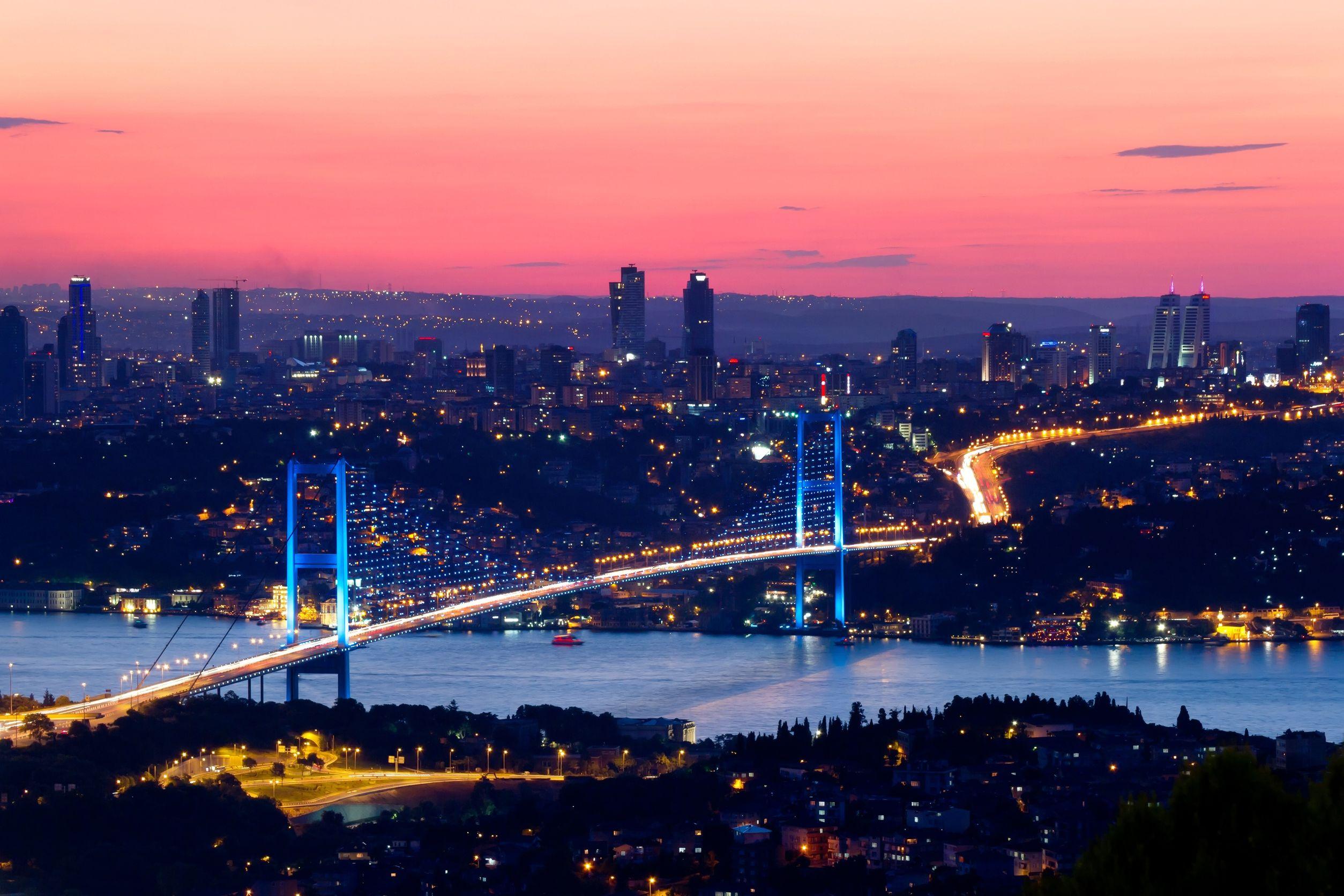 البوسفور، اسطمبول تركيا