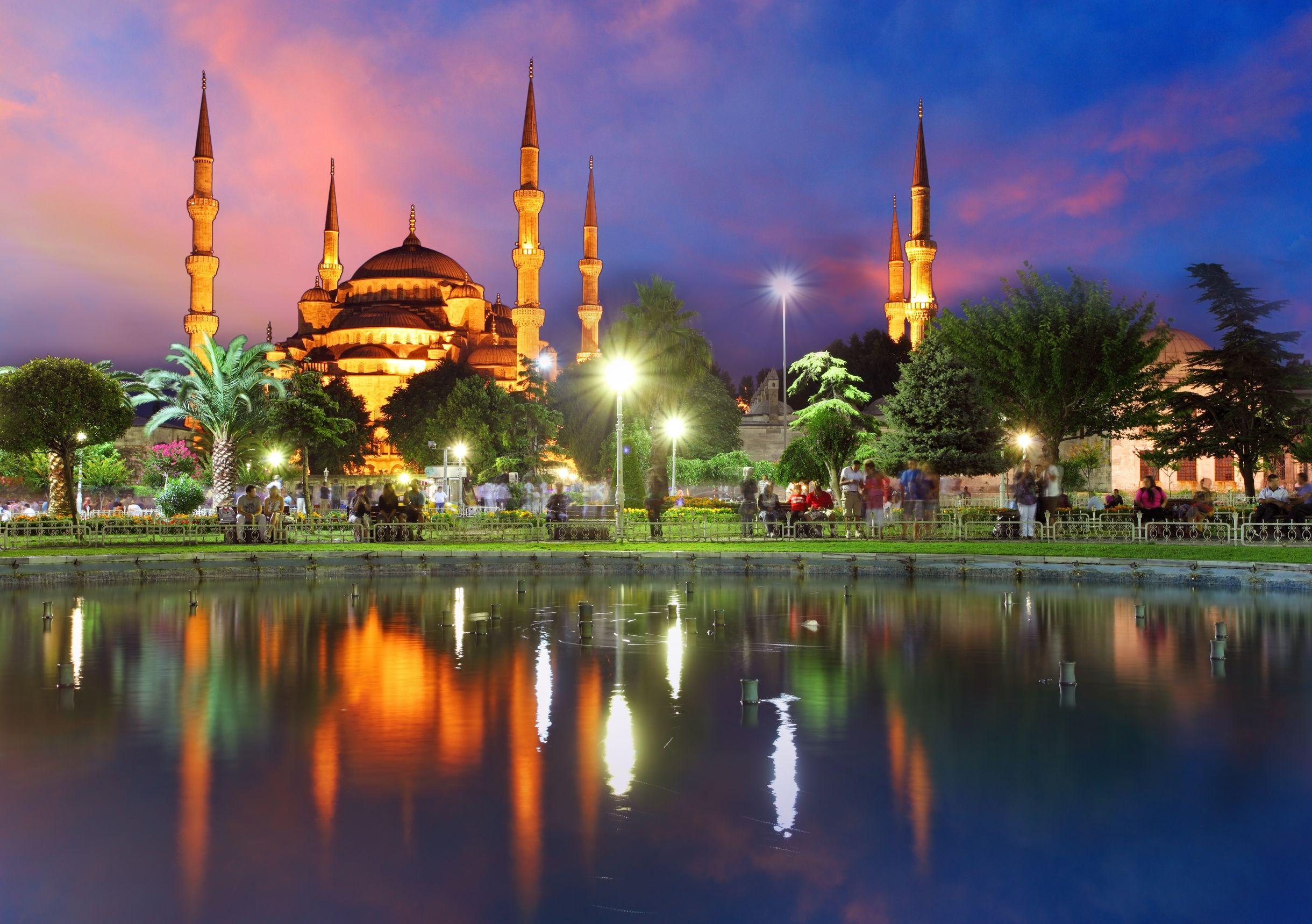 المسجد الأزرق، اسطمبول تركيا