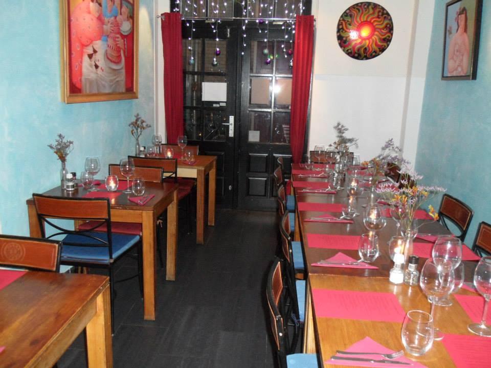أمستردام مطعم Eatmosfera ريستورانتي