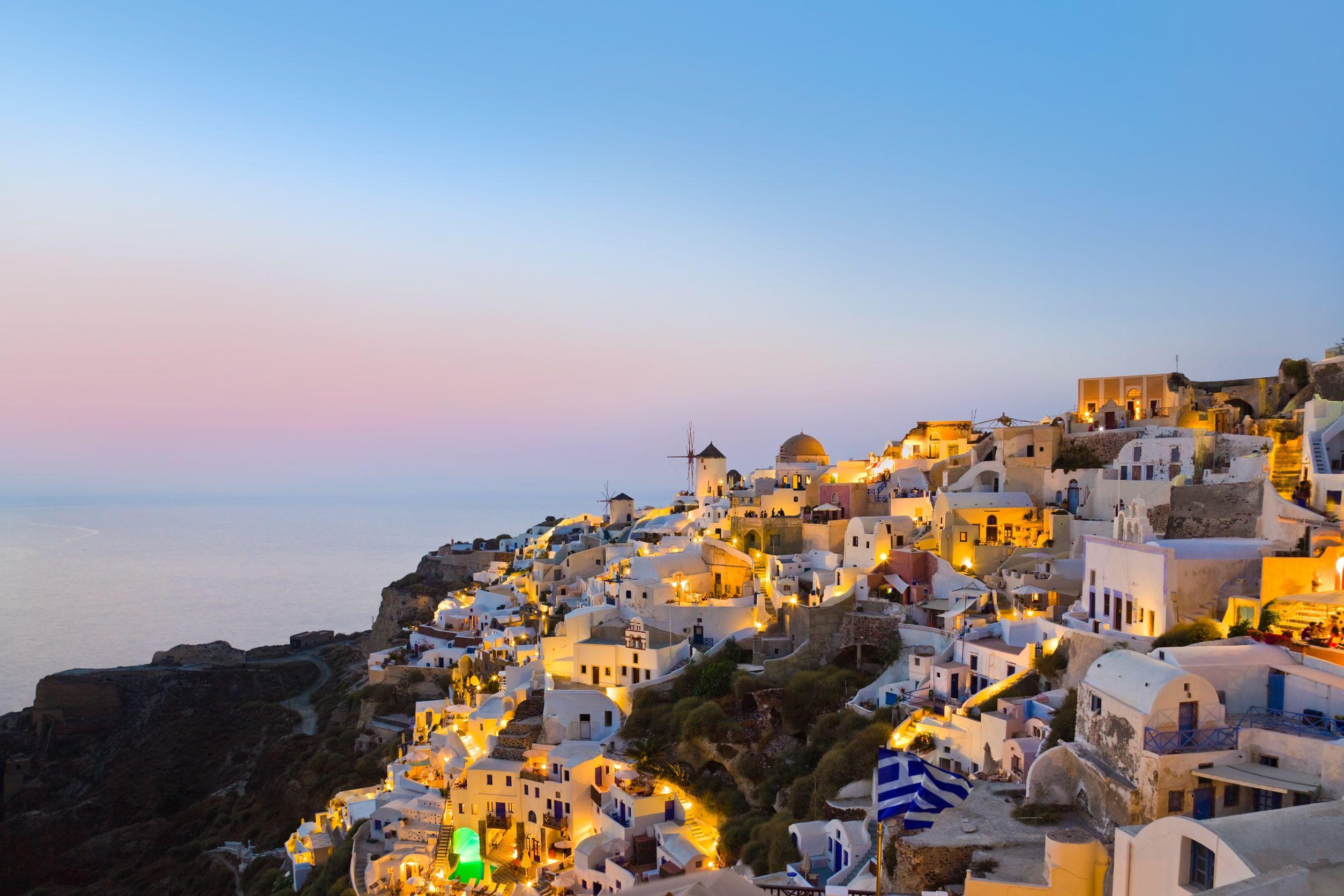 سانتوريني اليونان