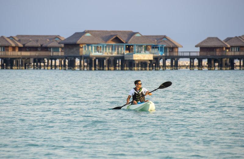 الأنشطة الترفيهية في منتجع جزيرة الموز الدوحة