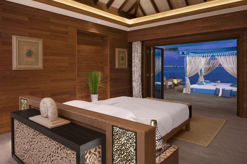 Three Bedroom Overwater Villa Bedroom Banana Island Resort Doha
