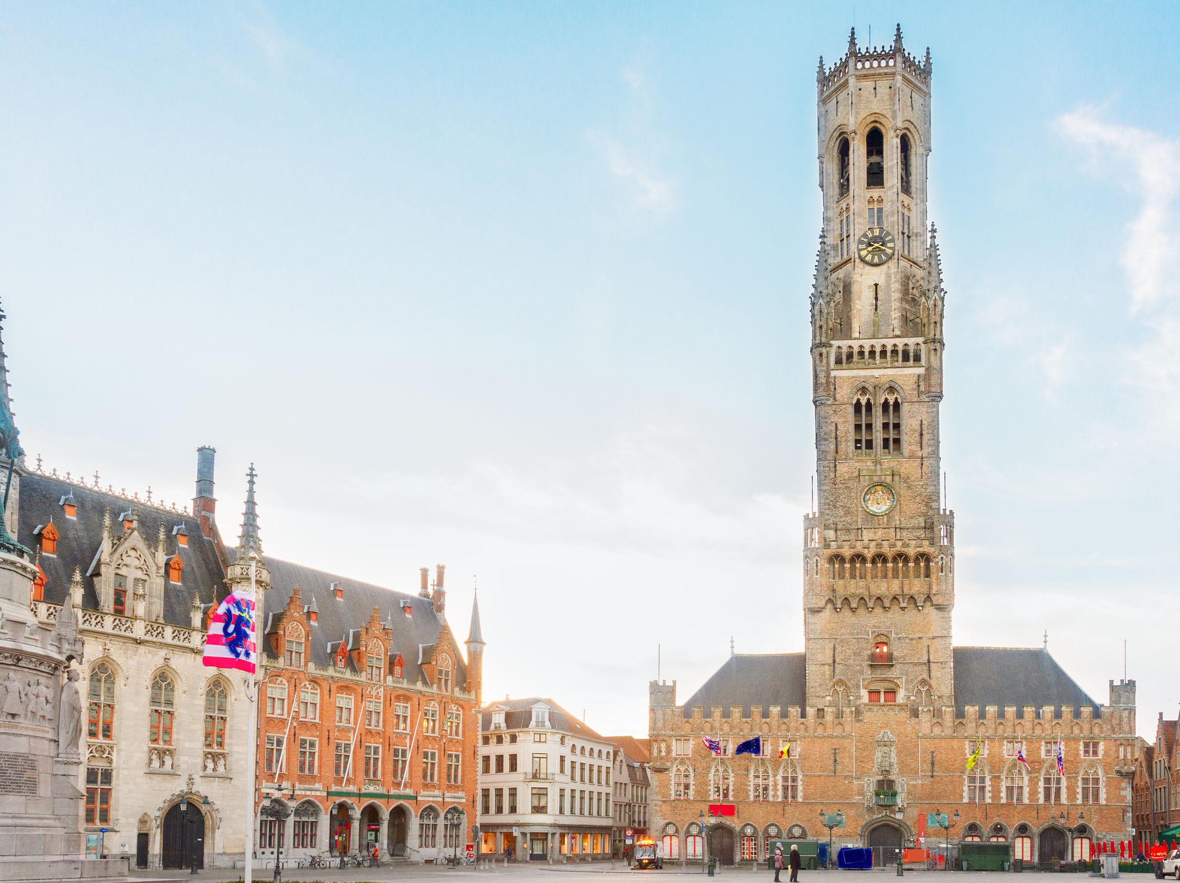 المركز التاريخي بروج بلجيكا