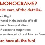 مونوجرامس ترافل ترتب رحلتك بالكامل