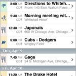 برنامج iPhone لتنظيم الرحلات من تريب إت