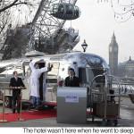 الفندق الأصغر في العالم سيفتتح في لندن